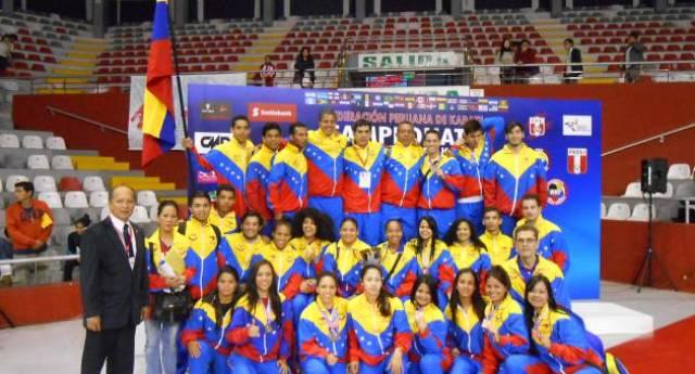 Venezuela revalidó su título en el Panamericano Juvenil de Kárate 2014
