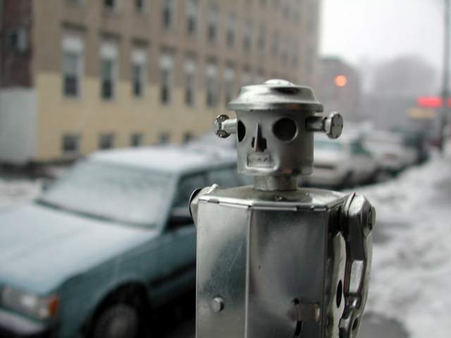 Robot participa en obra de teatro en Japón