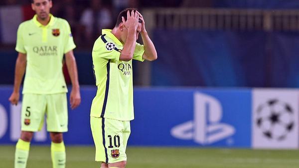 Barcelona pierde su primer partido del año ante el París Saint-Germain
