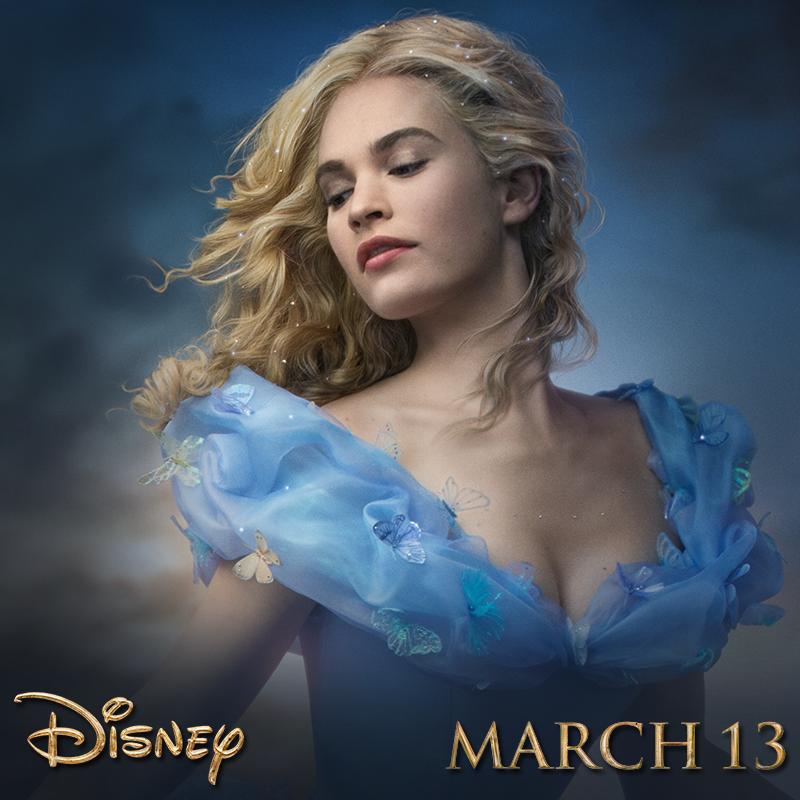 Lily James como Cinderella o la nueva Cenicienta