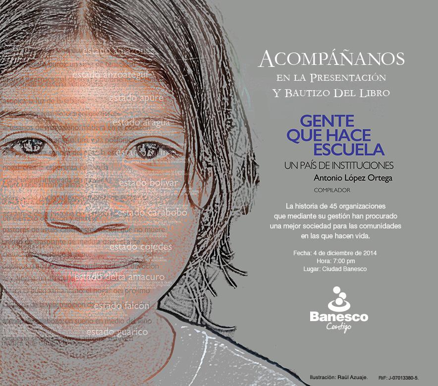"""Banesco bautizará libro """"Un País de Instituciones"""""""