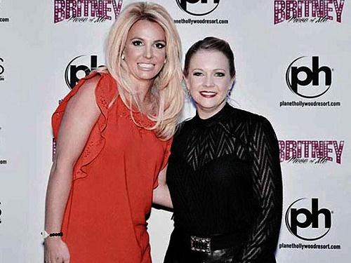 Britney y Melissa se reencuentran