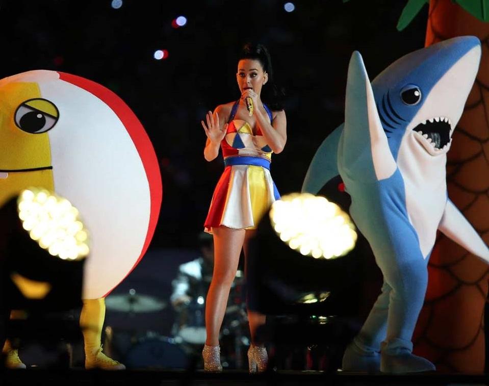 Katy Perry cumple su sueño en el Super Bowl