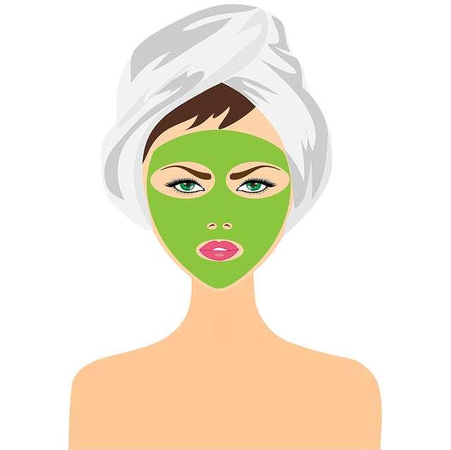 Macarilla para quitar las manchas del rostro