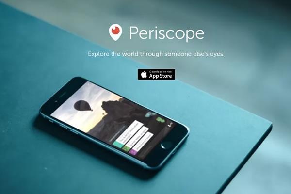 Twitter se sincroniza con Periscope
