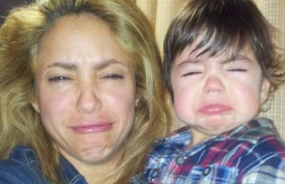 Shakira asistió al colegio de Milán sin una gota de maquillaje