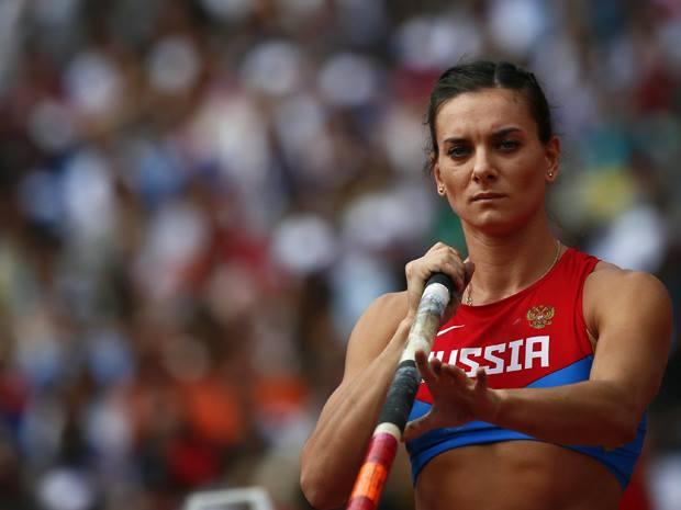 Ejército de Rusia condecora a Yelena Isinbayeva