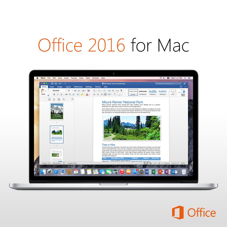 Office 365 llega a múltiples formatos