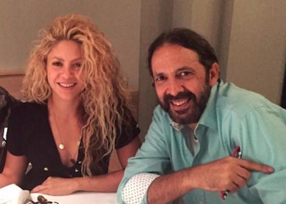Shakira quedó atrapada en un ascensor junto a Juan Luis Guerra