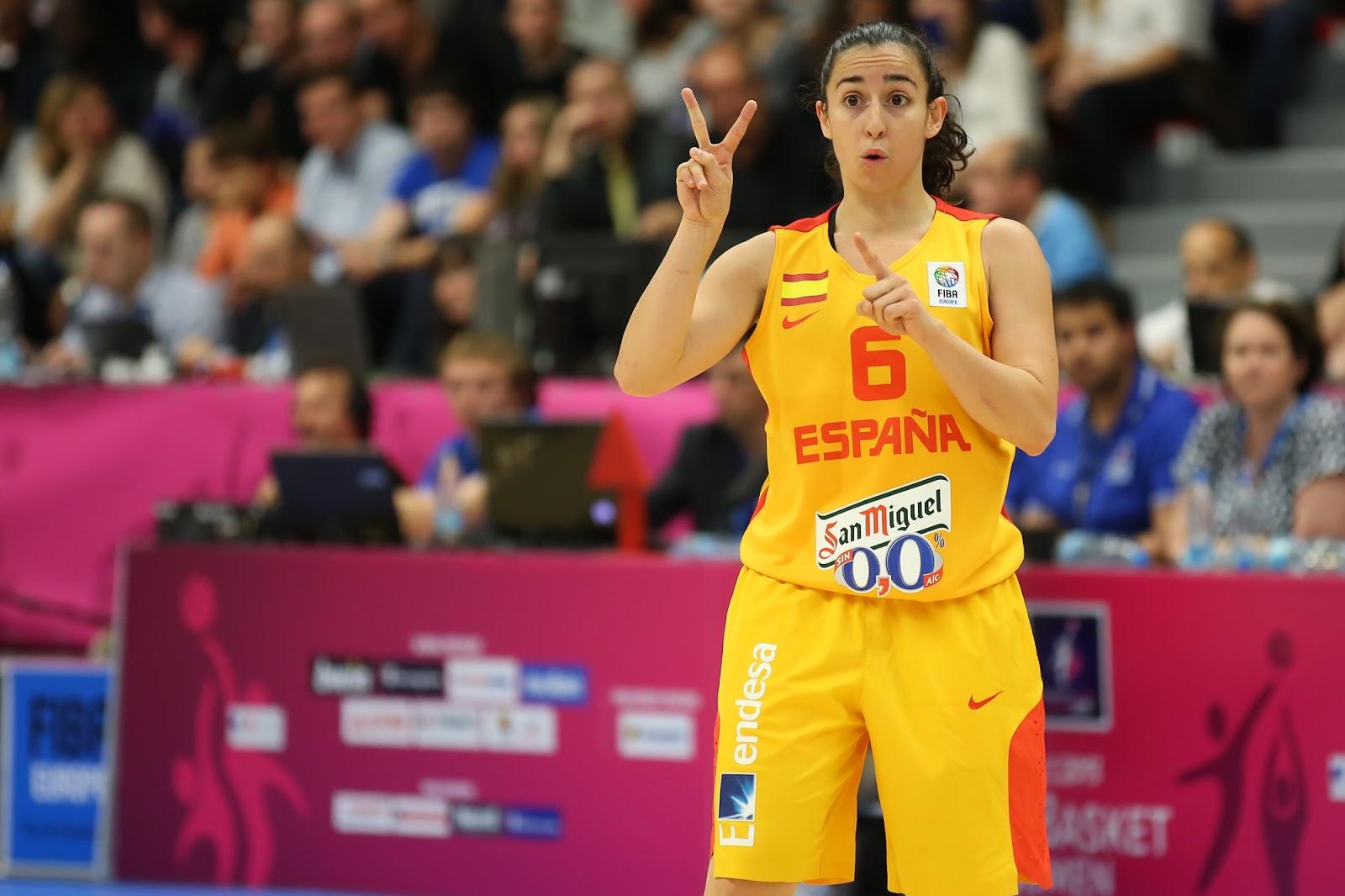 La selección española ha contado con Sílvia Domínguez.