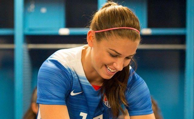 Alex Morgan atrapa las miradas en el Mundial de Fútbol Femenino