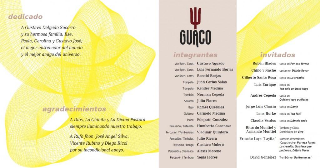 Diego Ricol Freyre recibe reconocimiento de la banda Guaco