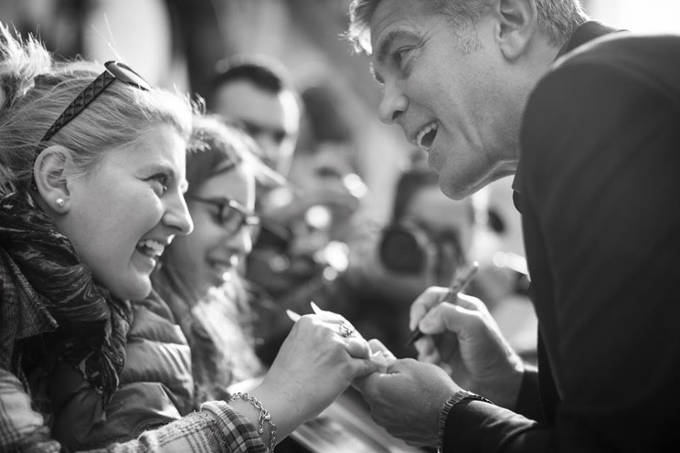 George Clooney revoluciona el Reino Unido