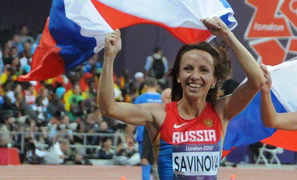 Agencia Mundial Antidopaje acusa a Mariya Savinova