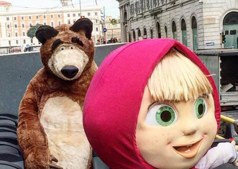 Episodio de Masha y el Oso acapara las miradas