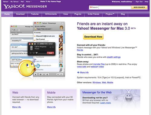 Yahoo anuncia su nuevo Messenger