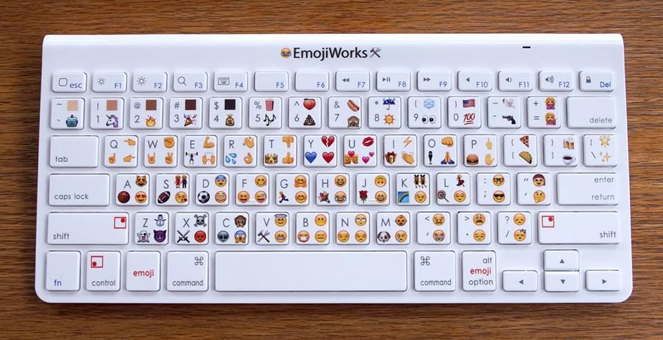 Los Emojis llegan a los teclados