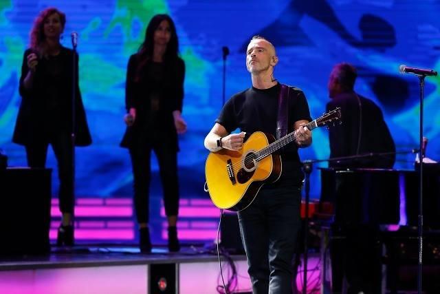 Eros Ramazzotti y Ana Torroja triunfan en Viña del Mar