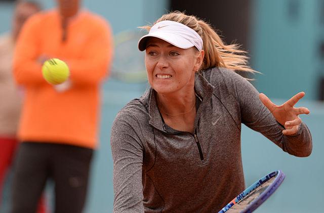 Maria Sharapova dijo adiós a Indian Wells
