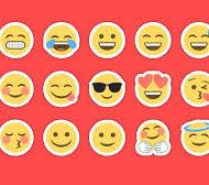 Los emojis varían de acuerdo a la plataforma