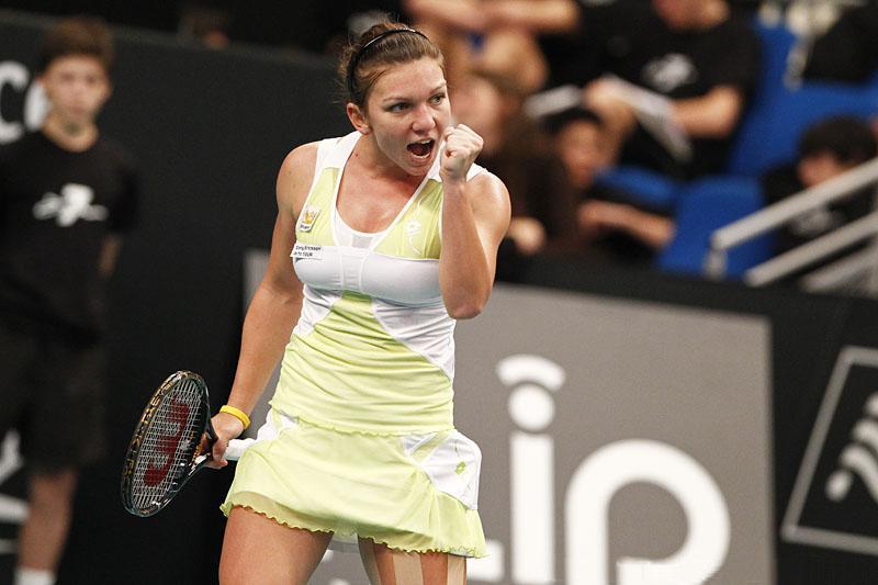 Simona Halep sucumbió en el torneo de tenis de Sttutgart