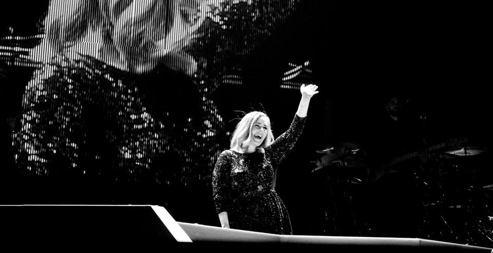 Adele en concierto