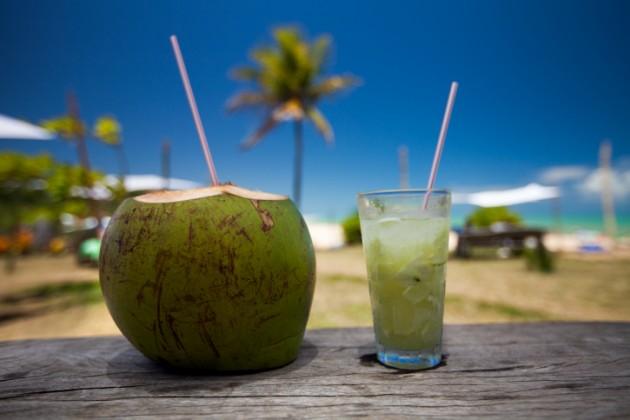 El agua de coco, famosa entre las celebridades