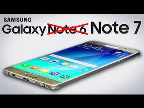 Samsung presentó su nuevo Galaxy Note 7