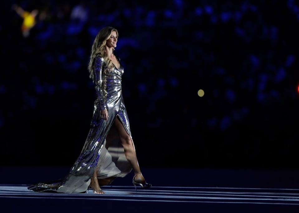 Gisele Bundchen comete un error en Río 2016