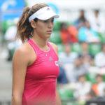 Garbiñe Muguruza cayó en el US Open