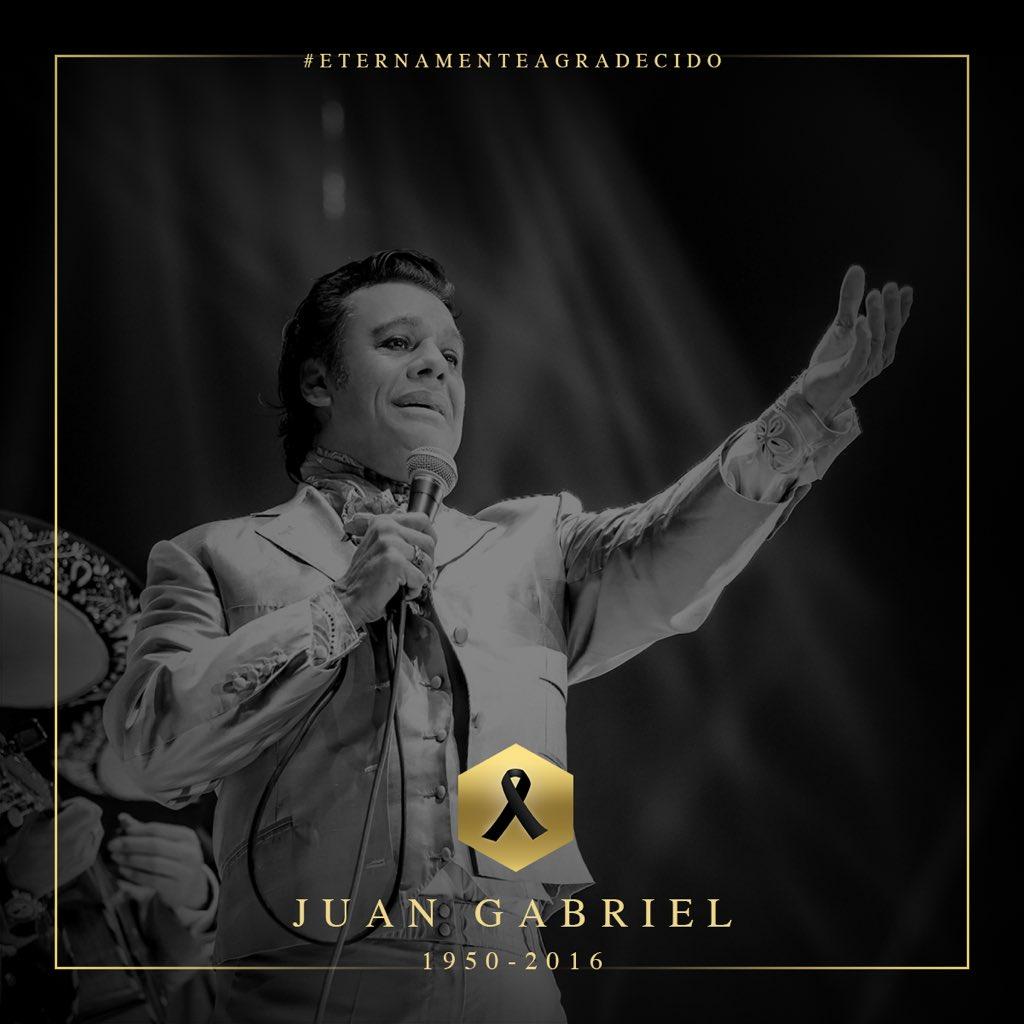 Juan Gabriel superó a Justin Bieber en popularidad