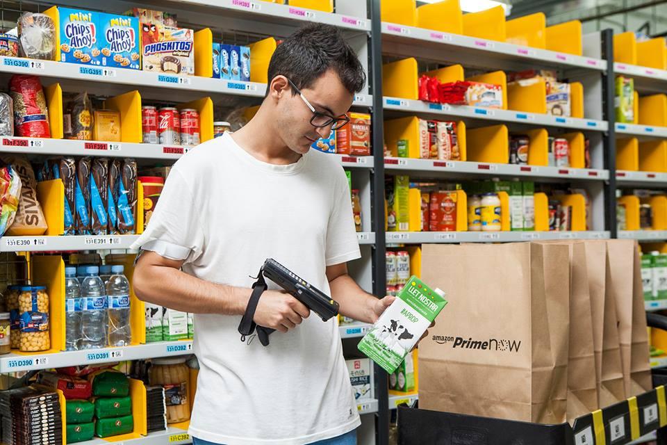 Amazon pone en jaque a los supermercados