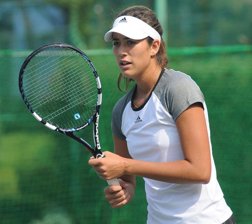 Garbiñe Muguruza tuvo una mala actuación en el torneo de China