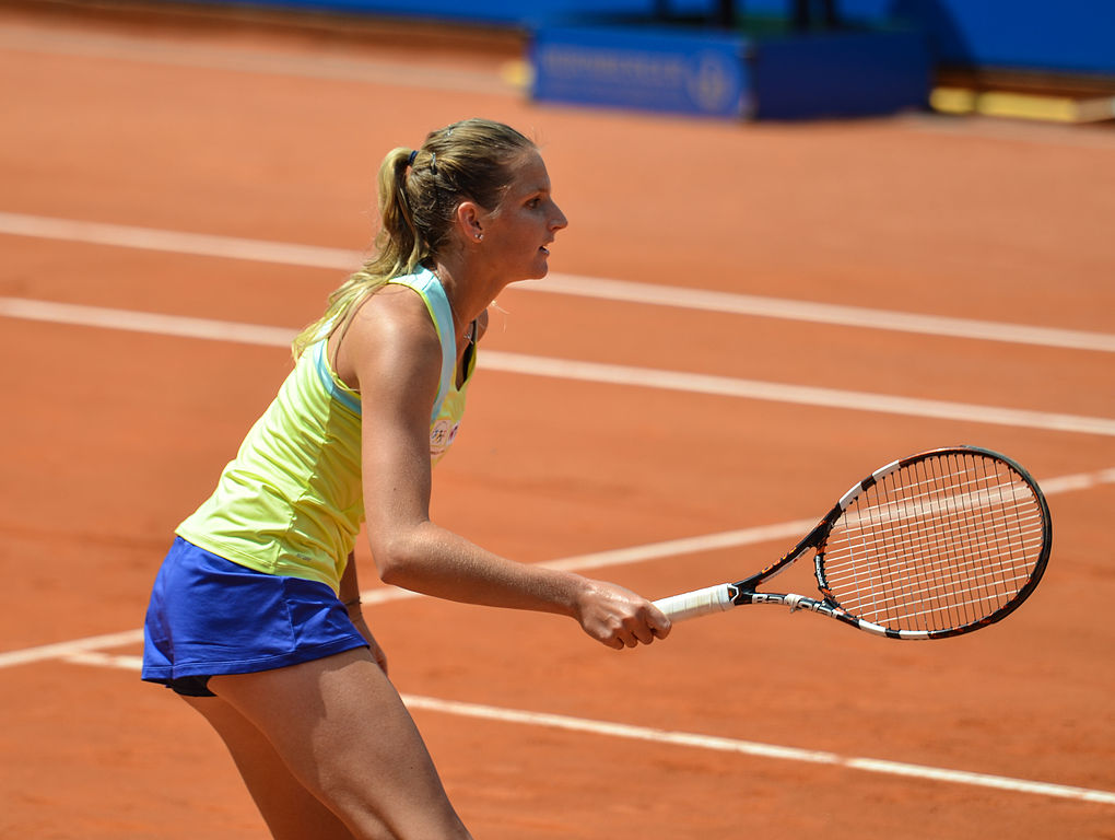 Karolina Pliskova es la reina de los aces en el tenis femenino