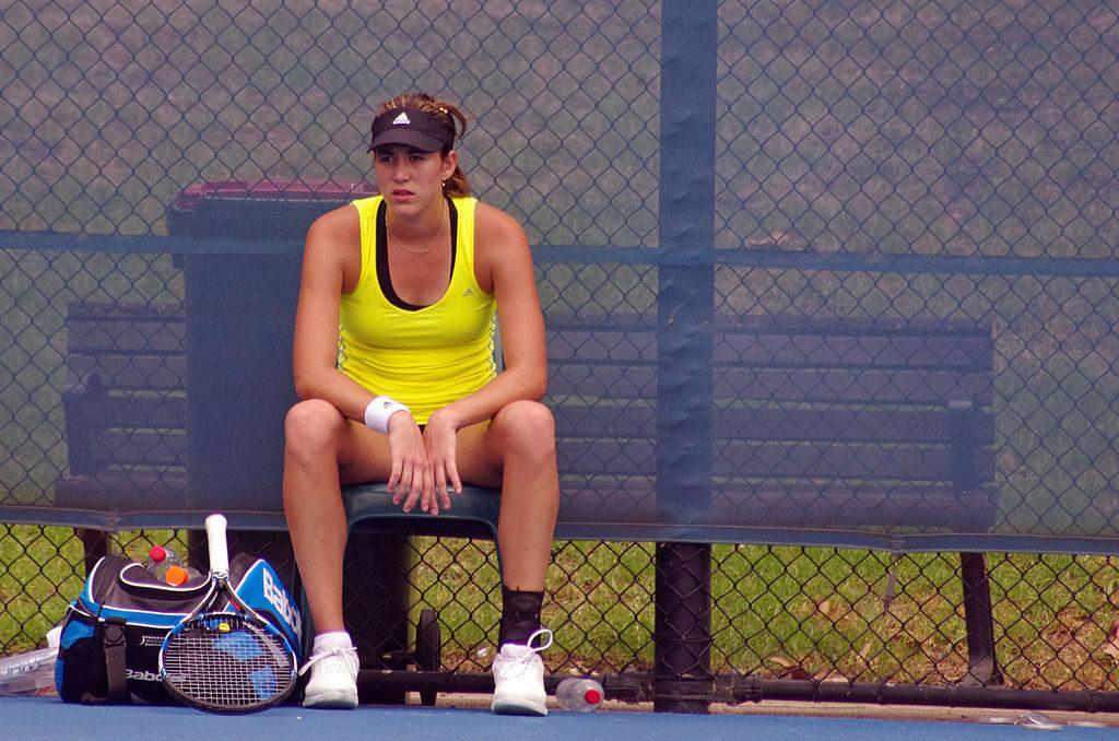 Garbiñe Muguruza sigue en el top diez de la WTA