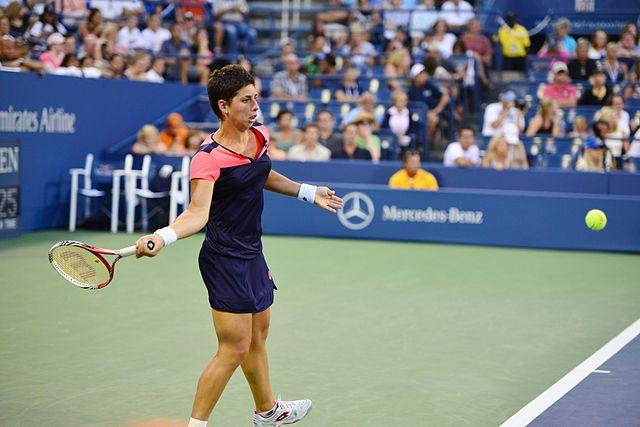 Carla Suárez se retiró del WTA Elite Trophy