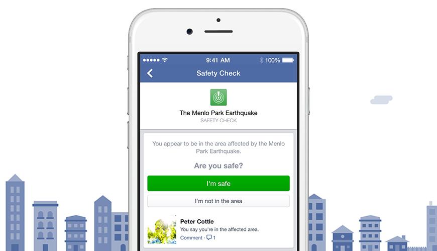 Facebook pone en funcionamiento el Safety Check