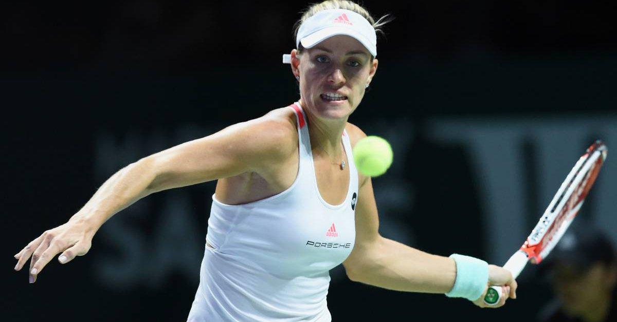 Angelique Kerber fue felicitada por la Federación internacional de Tenis