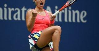 Angelique Kerber cayó en el Abierto de Brisbane