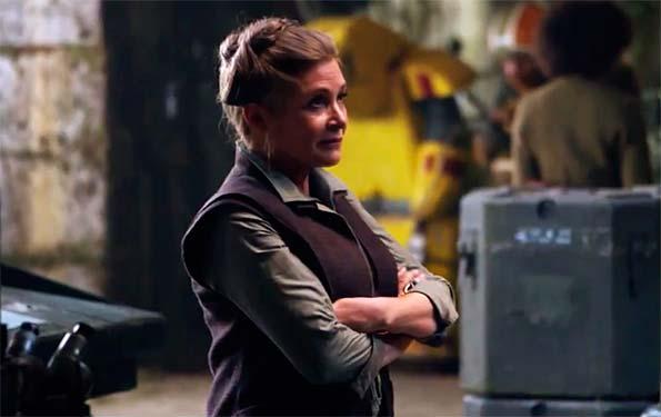 La imagen de Carrie Fisher no volverá a Star Wars