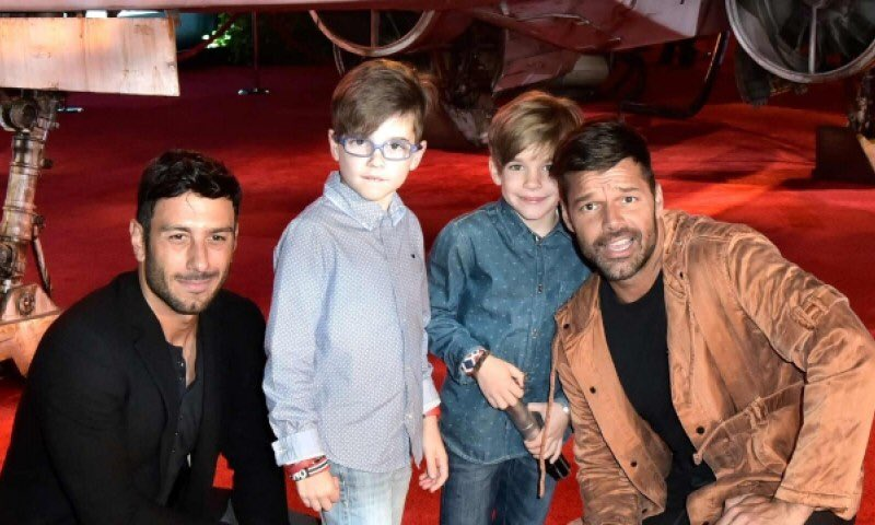 Ricky Martin reitera su compromiso con Jwan Yosef
