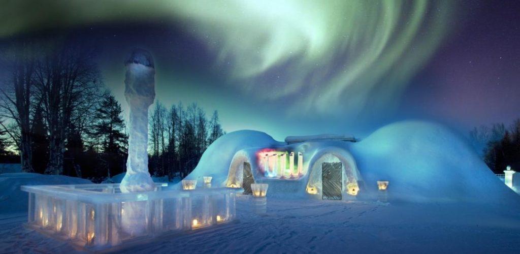 ¡CONÓCELOS! Los 3 hoteles de hielo más importantes del mundo