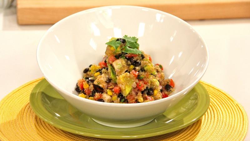 María Eugenia Baptista Zacarías te trae una receta para preparar quinoa con pollo