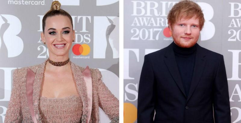 Vídeos de Ed Sheeran y Katy Perry son virales en Youtube