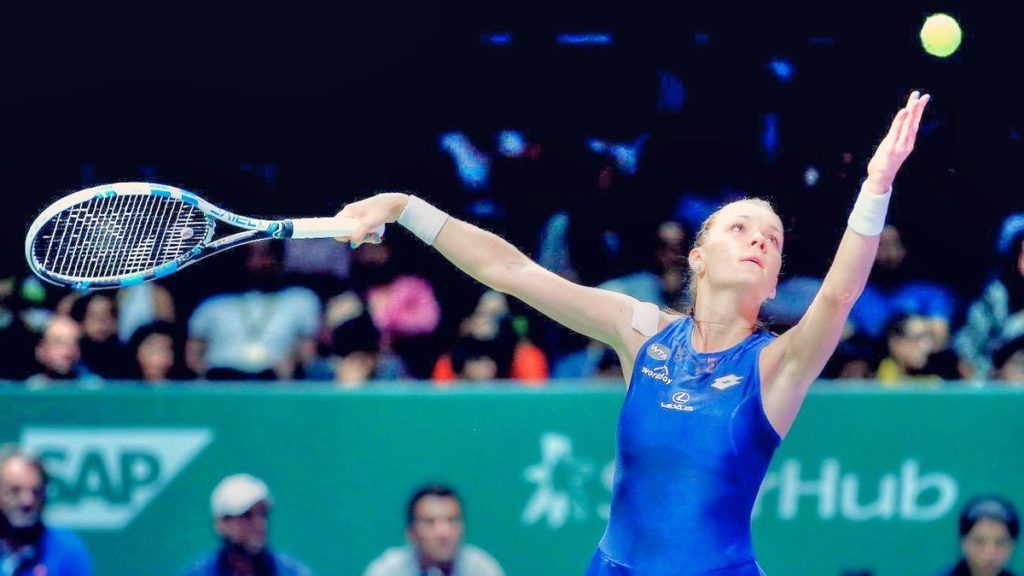 Agnieszka Radwanska venció a Tsvetana Pironkova