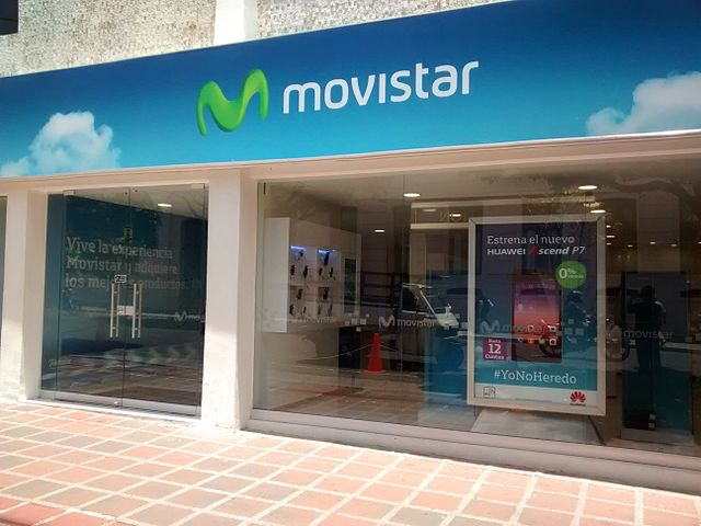 Movistar ofrece recarga en línea para sus clientes