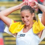 Karolina Pliskova superó a Garbiñe Muguruza