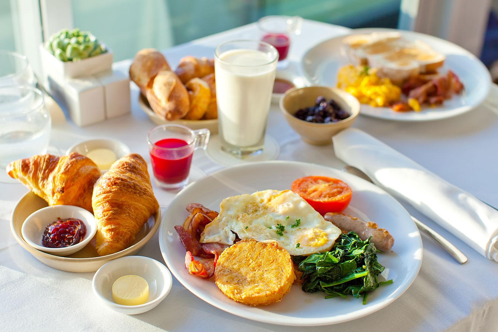 El desayuno, principal fuente de energía