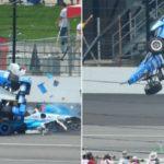 Este fue el choque que se volvio vital tras las 500 millas de Indianapolis