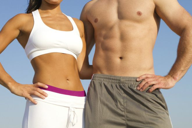 Abdomen plano: alimentación y ejercicio